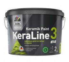 """DufaPremium"" ВД краска KeraLine 3  база3  9л"